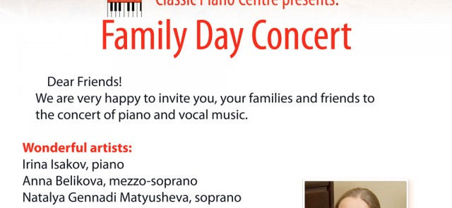 Family day concert